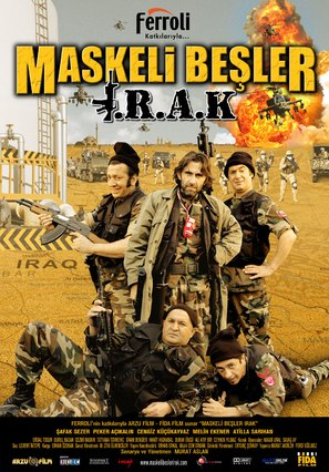 Maskeli besler: Irak - Turkish Movie Poster (thumbnail)