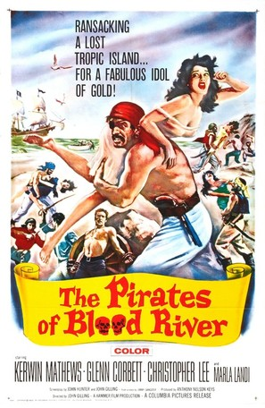 Pirates of Blood River - Movie Poster (thumbnail)