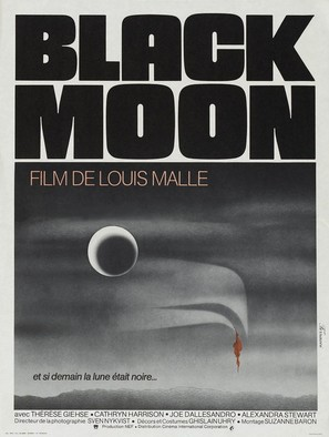 Black Moon - French Movie Poster (thumbnail)