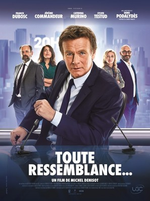 Toute ressemblance - French Movie Poster (thumbnail)