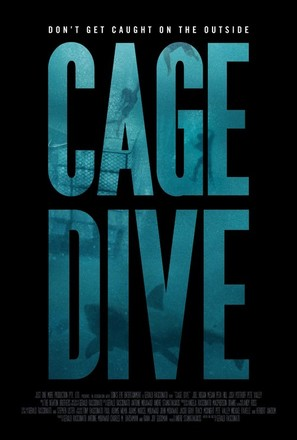 Cage Dive - Australian Movie Poster (thumbnail)