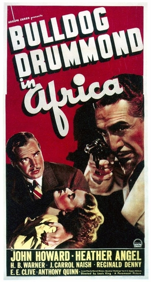 Bulldog Drummond in Africa - Movie Poster (thumbnail)