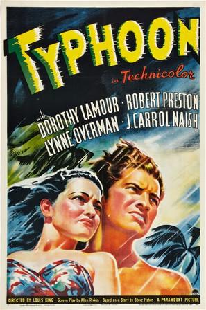 Typhoon - Movie Poster (thumbnail)