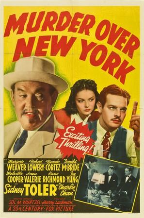 Murder Over New York - Movie Poster (thumbnail)