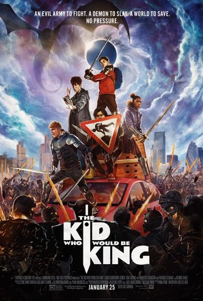 The Kid Who Would Be King - Movie Poster (thumbnail)