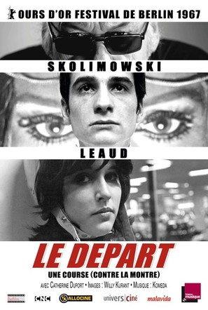 Le départ - French Re-release poster (thumbnail)