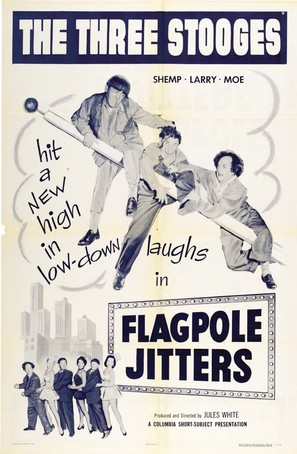 Flagpole Jitters - Movie Poster (thumbnail)