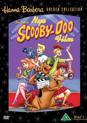 """The New Scooby-Doo Movies"" - Danish DVD movie cover (thumbnail)"