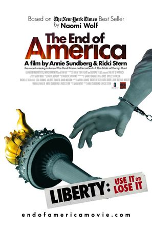 The End of America - Movie Poster (thumbnail)
