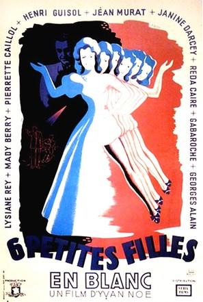 Six petites filles en blanc - French Movie Poster (thumbnail)