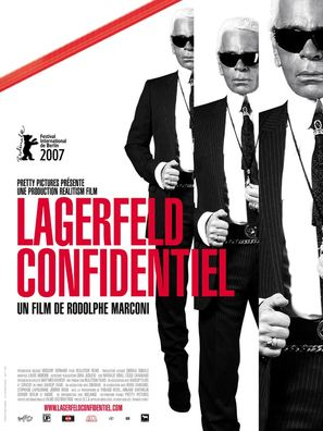 Lagerfeld Confidentiel - French Movie Poster (thumbnail)