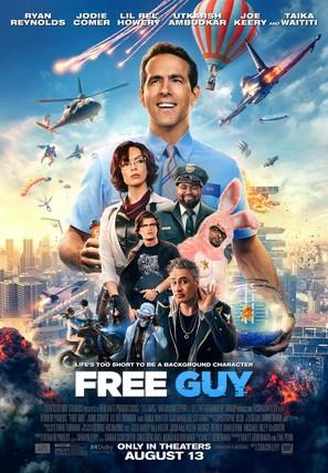 Free Guy - Movie Poster (thumbnail)