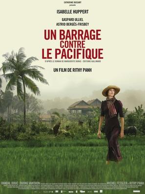 Un barrage contre le Pacifique - French Movie Poster (thumbnail)