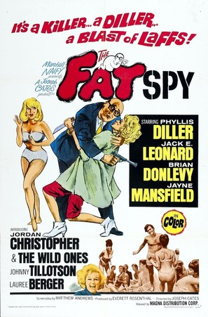 The Fat Spy - Movie Poster (thumbnail)
