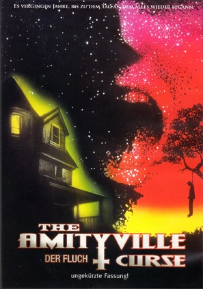 The Amityville Curse - German DVD movie cover (thumbnail)