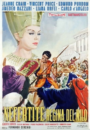 Nefertiti, regina del Nilo - Italian Movie Poster (thumbnail)