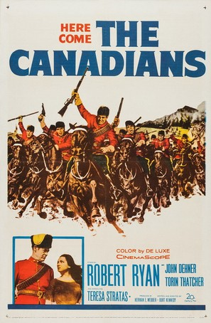 The Canadians - Movie Poster (thumbnail)