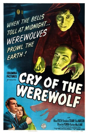 Cry of the Werewolf - Theatrical poster (thumbnail)