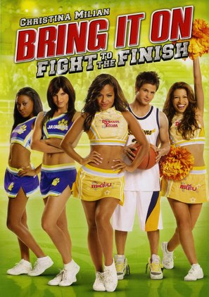 Bring It On: Fight to the Finish - DVD movie cover (thumbnail)