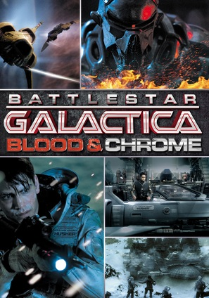 Battlestar Galactica: Blood & Chrome - Movie Cover (thumbnail)