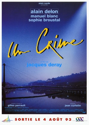Un crime - French Movie Poster (thumbnail)
