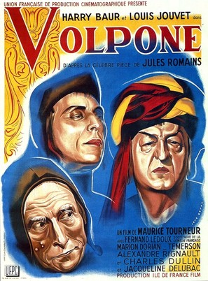 Volpone - French Movie Poster (thumbnail)