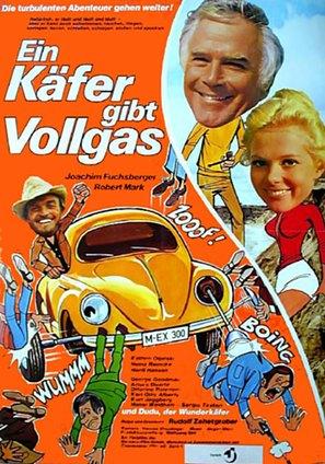 Ein Käfer gibt Vollgas - German Movie Poster (thumbnail)