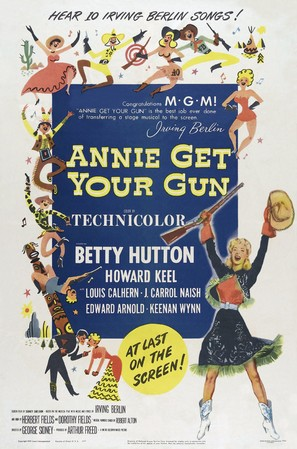 Annie Get Your Gun - Movie Poster (thumbnail)