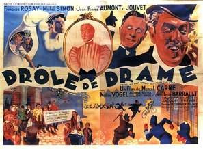 Drôle de drame ou L'ètrange aventure de Docteur Molyneux - French Movie Poster (thumbnail)
