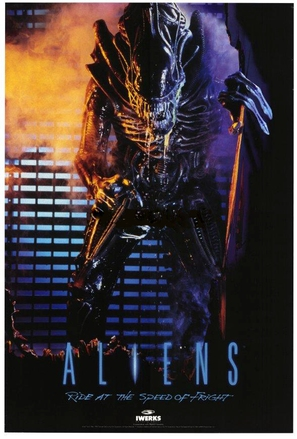 Aliens: Ride at the Speed of Fright - Movie Poster (thumbnail)