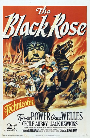 The Black Rose - Movie Poster (thumbnail)