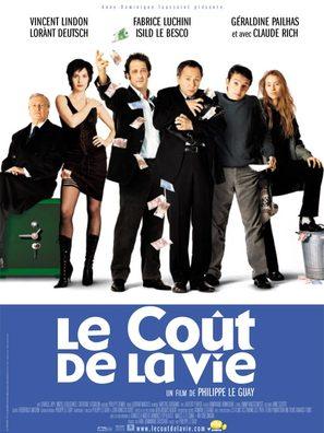 Le coût de la vie - French Movie Poster (thumbnail)