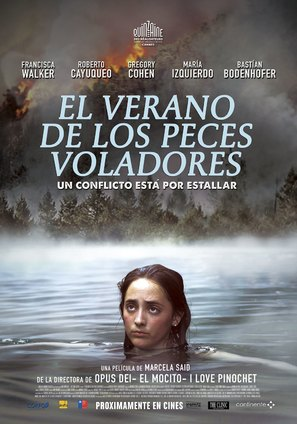 El verano de los peces voladores - Chilean Movie Poster (thumbnail)