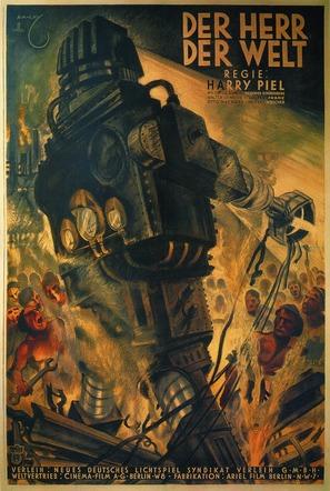 Der Herr der Welt - German Movie Poster (thumbnail)
