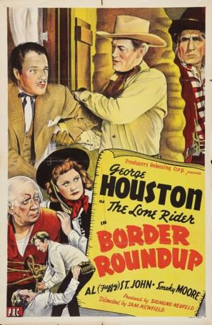 Border Roundup - Movie Poster (thumbnail)