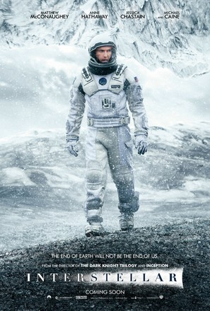 Interstellar - Movie Poster (thumbnail)