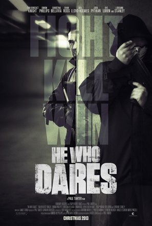 He Who Dares - British Movie Poster (thumbnail)