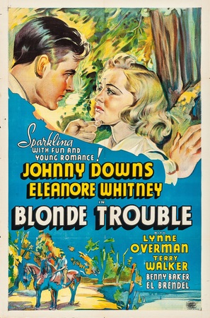 Blonde Trouble - Movie Poster (thumbnail)