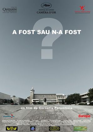 A fost sau n-a fost? - Romanian Movie Poster (thumbnail)