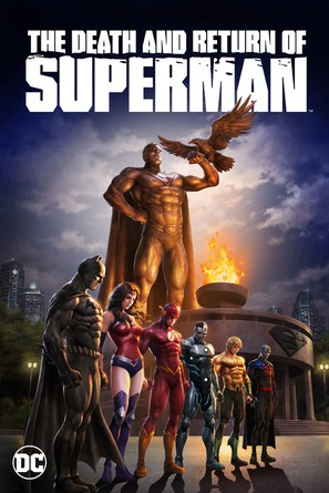 The Death and Return of Superman - DVD movie cover (thumbnail)