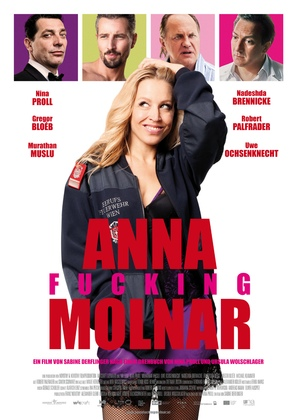 Anna Fucking Molnar - Austrian Movie Poster (thumbnail)