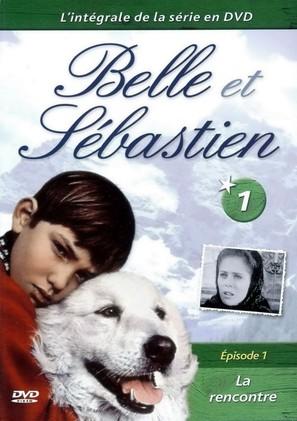 """Belle et Sébastien"" - French DVD movie cover (thumbnail)"