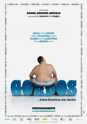 Gordos - Spanish Movie Poster (thumbnail)