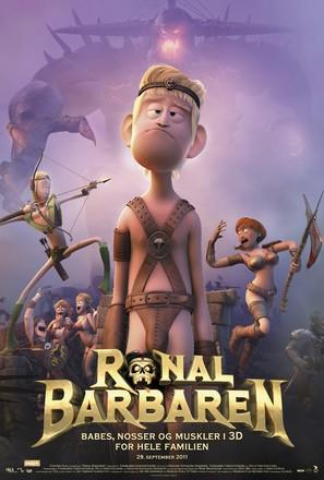 Ronal Barbaren - Danish Movie Poster (thumbnail)