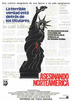 The Killing of America - Spanish Movie Poster (thumbnail)