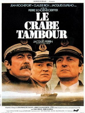 Le crabe-Tambour - French Movie Poster (thumbnail)