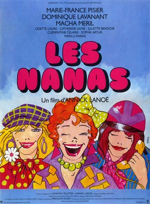 Nanas, Les - French Movie Poster (thumbnail)