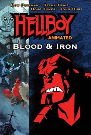 Hellboy Animated: Blood and Iron - Movie Cover (thumbnail)