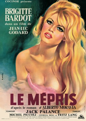 Le mépris - French Movie Poster (thumbnail)