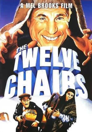 The Twelve Chairs - DVD movie cover (thumbnail)